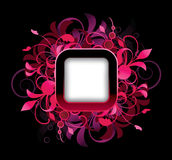 Frame with design elements Stock Images