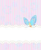 Frame design for greeting card. Template frame design for greeting card Royalty Free Stock Photo