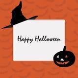 Frame design for Halloween Royalty Free Stock Photos