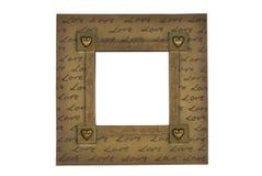 Frame do amor Fotos de Stock