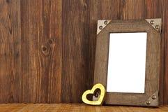 frame do Amor-retrato Imagens de Stock