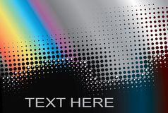 Frame do arco-íris para o texto. Imagem de Stock Royalty Free