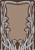 Frame do art deco Ilustração Royalty Free