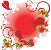 Frame do azevinho Imagens de Stock Royalty Free
