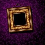 Frame do baguette do vintage Foto de Stock Royalty Free