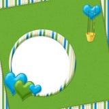 Frame do balão de ar quente Imagens de Stock Royalty Free