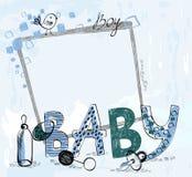 Frame do bebê Foto de Stock Royalty Free
