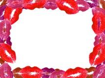 Frame do beijo Imagens de Stock Royalty Free