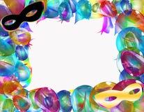 Frame do carnaval Fotografia de Stock Royalty Free