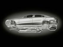 Frame do carro ilustração royalty free