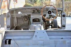 Frame do carro de metal Fotos de Stock