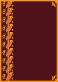 Frame do carvalho Imagens de Stock