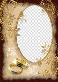 Frame do casamento Imagem de Stock