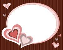 Frame do coração Imagem de Stock Royalty Free