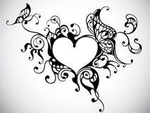 Frame do coração ilustração royalty free