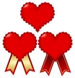 Frame do coração do Valentim Ilustração do Vetor