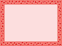Frame do dia de St.Valentine Imagens de Stock