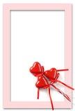 Frame do dia dos Valentim fotos de stock