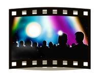 Frame do flim da apresentação da mostra da vida Imagens de Stock