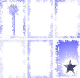 Frame do grunge da coleção Imagens de Stock Royalty Free
