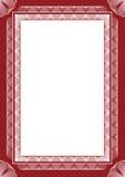 Frame do Guilloche ilustração royalty free
