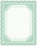 Frame do Guilloche ilustração stock