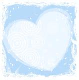 Frame do iin do coração Fotos de Stock Royalty Free
