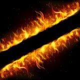 Frame do incêndio Fotografia de Stock
