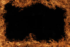 Frame do incêndio Foto de Stock