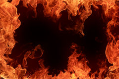 Frame do incêndio imagem de stock royalty free