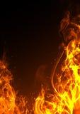 Frame do incêndio Imagem de Stock