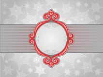 Frame do inverno ilustração royalty free