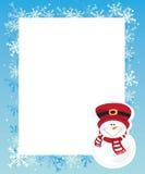Frame do inverno Foto de Stock
