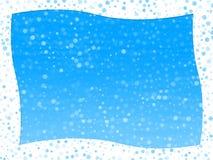Frame do inverno ilustração stock