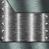 Frame do metal imagem de stock royalty free