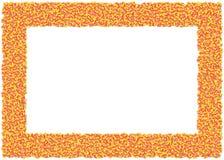 Frame do milho de doces ilustração royalty free