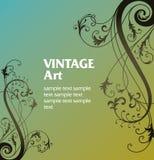 Frame do molde do vintage ilustração royalty free