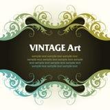 Frame do molde do vintage ilustração do vetor