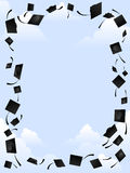 Frame do Mortarboard Fotografia de Stock