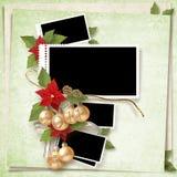 Frame do Natal Fotos de Stock