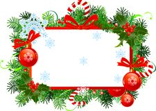 Frame do Natal Foto de Stock Royalty Free