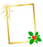 Frame do Natal Fotografia de Stock