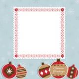 Frame do Natal Fotografia de Stock Royalty Free