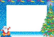 Frame do Natal Fotos de Stock Royalty Free