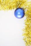 Frame do Natal com bulbo foto de stock royalty free