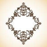 Frame do ornamental do vintage Fotos de Stock Royalty Free