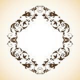 Frame do ornamental do vintage Fotografia de Stock Royalty Free