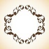 Frame do ornamental do vintage Foto de Stock