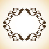 Frame do ornamental do vintage Foto de Stock