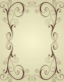 Frame do ornamental do vintage Fotografia de Stock